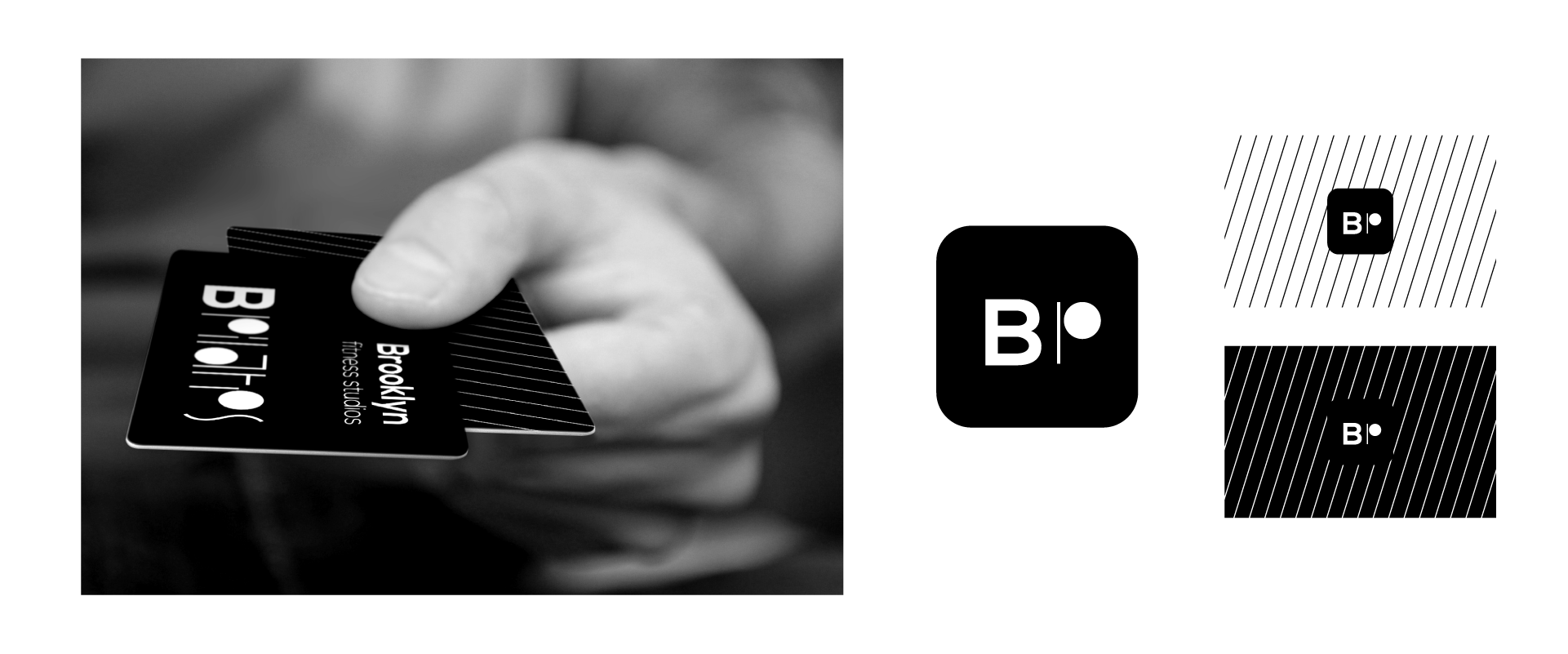 BPilates member card and Social networks avatar